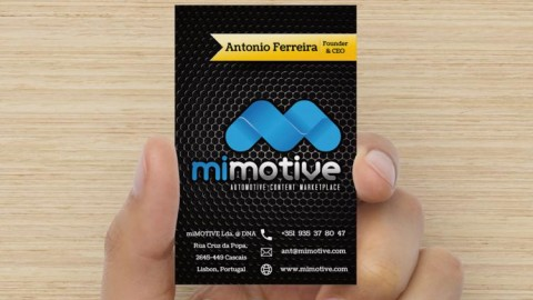 New miMOTIVE Business Cards